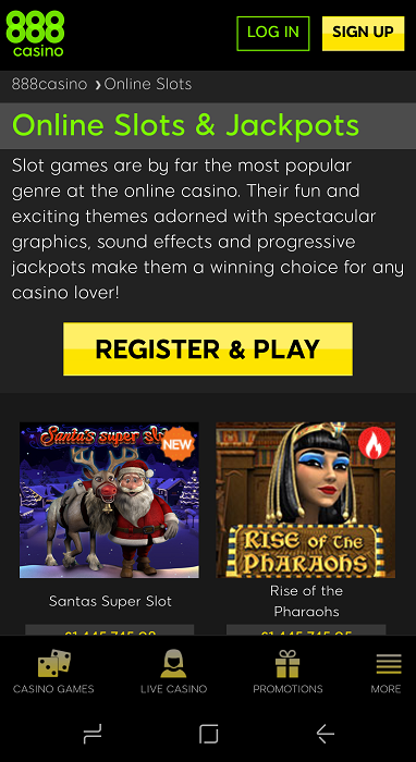 888 Casino App Download