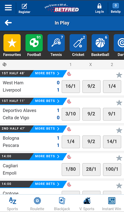 Free Download » Betfred App For Android APK | Sports Betting App
