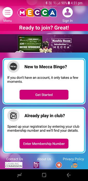 Mecca bingo