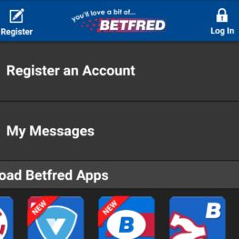 Download Betfred app