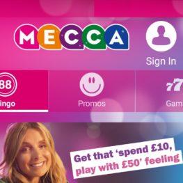Mecca bingo mobile app