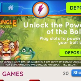 Power Spins mobile app