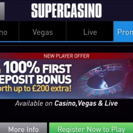 Super Casino Android app download