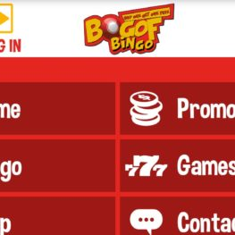Mobile app for BOGOF bingo
